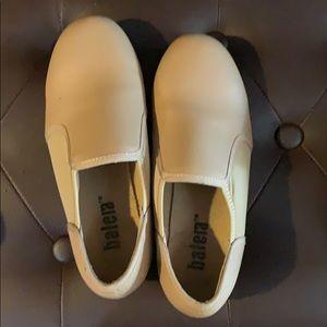Balera tan tap shoes size 4